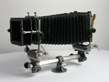 De Vere 5×7 camera, with a hand made reducing back for 4×5 film.