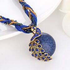Fashion Charms Jewelry Womens Necklace phoenix Pendant Resin Link Unique Chain