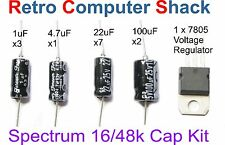 2x Sinclair ZX Spectrum 16K & 48K Repair - Capacitor & Voltage Regulator Kit