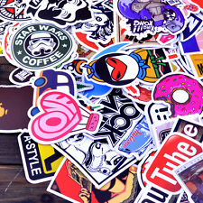 50 pcs mix Stickers Skateboard Sticker Graffiti Laptop Luggage Vinyl Car Decals