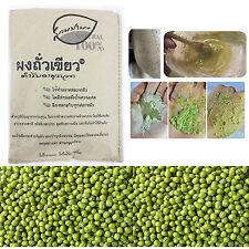 MUNG GREEN BEANS POWDER CLEANSER THAI NATURAL SCRUB FACE MASK BODY WASH 100g