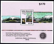 New Zealand - 1987 National parks - Mi. Bl. 13 MNH