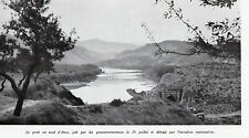 ESPANA ASCO PONT DETRUIT PAR AVIATION NATIONALISTE IMAGE 1938 OLD PRINT