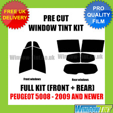 PEUGEOT 5008 2009+ FULL PRE CUT WINDOW TINT