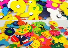 Fridge Magnet 12 pcs Wooden stickers in vivid shapes Cute and Beautiful