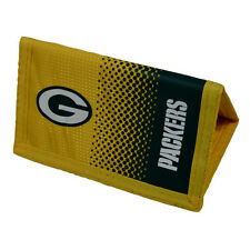 NFL GREEN BAY PACKERS FADE MONEY WALLET PURSE NOTES COIN CARD MEN NEW XMAS GIFT
