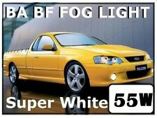WHITE H3 Fog Light Bulbs FORD FALCON BA BF XR6 XR8 Turbo GT XL XLS UTE