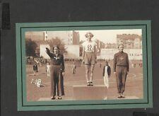 Nostalgia Postcard Grethe Whitehead Winner 80 Metres Womens hurdles 1936