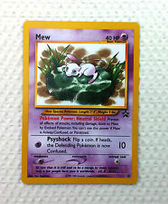 Pokemon Black Star Promo Lily pad MEW #47 English  - MINT