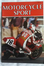 Motorcycle Sport MCS May 88 Sidecar Saga : FZR 1000 :H-D :Big Port AJS :Transalp