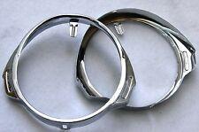 """VESPA Lampenring CHROM Scheinwerfer Ring PX 80 125 150 200 P E Lenker """"alte PX"""""""