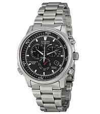 Citizen Eco-Drive Mens Nighthawk Flight Radio Controlled Watch AT4110-55E