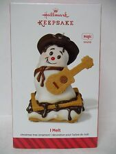Hallmark NEW 2014 I Melt MAGIC Ornament Plays Song By Rascal Flatts ~ S'More