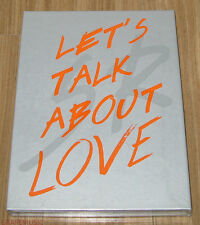 SEUNGRI Let's Talk About Love 2nd Mini Album ORANGE VERSION CD & FOLDED POSTER