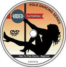 How To Pole Dance For Beginners DVD Quick & Easy Lessons Pole Dancing Success!!