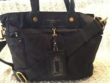 "Marc By Marc Jacobs ""Preppy Nylon Eliz-a-Baby"" Black Nylon Diaper Bag Tote Purse"
