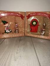 Christmas fairy doors and Elf wish jars