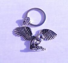 Owl Metal Keyring Chrome Metal Key Chain Gift Boxed