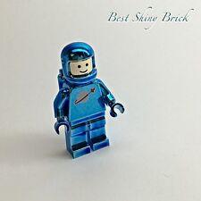 Lego Chrome Blue Astronaut Space Classic Mini Figure *New*
