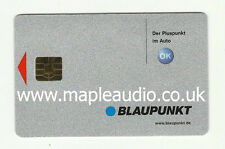 Blaupunkt Casablanca RCM127 7 647 733 010 Keycard - Brand New Genuine Part