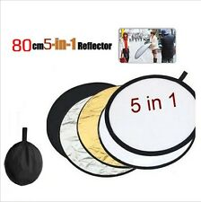 Portable 5in1 Light Photography Photo Lighting Reflector Multi Collapsible -FW
