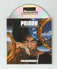PRINCE FT ZOOEY DESCHANEL 'FALL IN LOVE TONIGHT' CD PROMO + STICKER