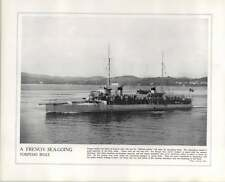 WW1 French Torpedo Boat Armoured Cruiser Amiral Aube