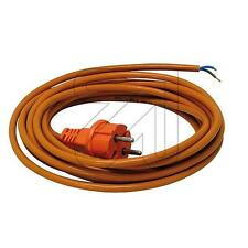 Netz Anschlußleitung, Netzleitung H07BQ-F 3x1,0mm²; 5m, beste Qualität, Kabel