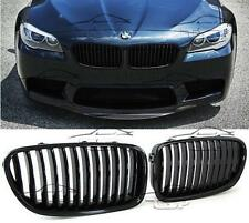 FRONT GRILLS BLACK GLOSS FOR BMW F10 F11 from 2010 SERIES 5 SPOILER BODY KIT NEW