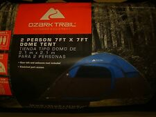 Ozark Trail 2 Person Dome Tent Outdoor Equipment 7 ft x 7 ft Gear Loft WMT-7742