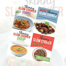 The Skinny Slow Cooker Collection 4 Books Set More Skinny Slow Cooker Recipes
