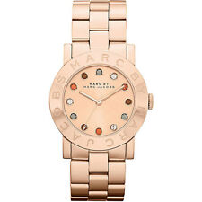 * Nuevo * MARC BY MARC JACOBS Ladies Watch MBM3142-Amy Multi Glitz Tono Oro Rosa