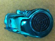 MINI QUAD DRX DRR ETON KASEA POLARIS JOG 50-110cc CHROME BLUE FAN COVER SHROUD