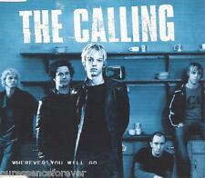 THE CALLING - Wherever You Will Go (UK 4 Tk Enh CD Single)