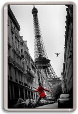 FRIDGE MAGNET - EIFFEL TOWER - Large Jumbo (Art Photo) France Paris
