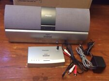 PIONEER XW-HTD630 DIGITAL WIRELESS REAR SPEAKER SYSTEM  & TRANSMITTER (Excellent