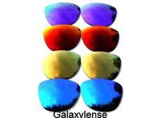 Galaxy Lentes De Repuesto Para Oakley Frogskins azul y oro rojo morado 4 PARES