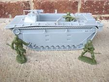 BMC US AMTRAC WWII LANDING CRAFT D-DAY PLAYSET 1/32 54 MM VEHICLE