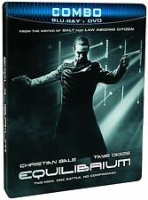 Equilibrium (Blu-ray + DVD  Steelbook Edition)  Christian Bale NEW