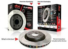 DBA T3 BRAKE DISC ROTOR MITSUBISHI EVO 4 IV DBA4429S REAR