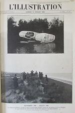 AVIATION AEROPLANE AVIATEUR BLERIOT TRAVERSEE DE LA MANCHE L ILLUSTRATION 1909