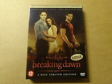 2-DISC LIMITED EDITION DVD / THE TWILIGHT SAGA - BREAKING DAWN - PART 1
