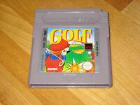 GAMEBOY GOLF gamboy color gba RETRO NINTENDO GAME BOY SPORTS