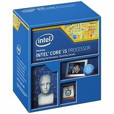 Intel Core i5 4460 Processor 6MB Cache Quad Core 3.2 GHz CPU Full Retail Box.