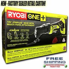 NEW Ryobi 18v Multi-Tool Console P340, P102 Pack, Charger & Bag FREE US SHIPPING