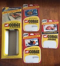 CORGI JUNIORS JAMES BOND 007 GIFT SET No3004 BOX & CARDS VW BEETLE GREAT BRITAIN