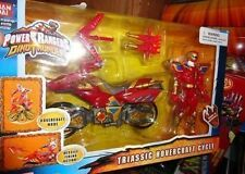 POWER RANGERS DINO THUNDER TRIASSIC HOVERCRAFT W/FIGURE