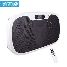 XL Whole Body Vibration Machine Massage Platform Plate LCD Display Bluetooth MP3