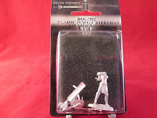 Dark Sword Miniatures CMoN Classic Female Barbarian Limited Edition Blister Pack
