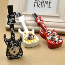 1 Pc Pipe Guitar Smoking Weed Portable Tobacco Cigarettes Pipe Random Color ^